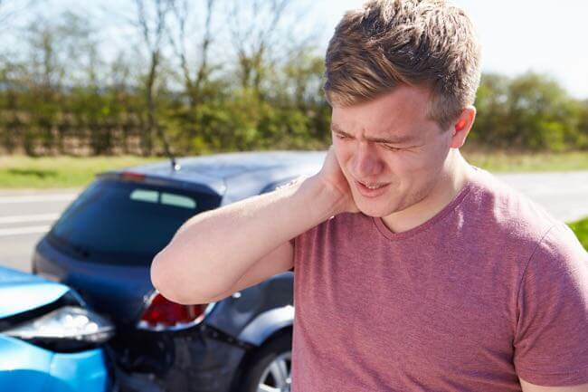Accident de voiture et coup du lapin